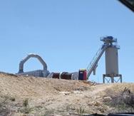 Detienen la construcción de una planta de asfalto en Peñuelas por falta de permisos