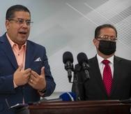 """Rafael """"Tatito"""" Hernández y José Luis Dalmau."""