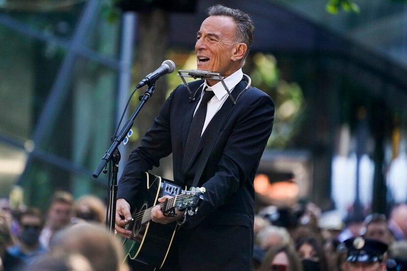 El rockero Bruce Springsteen.
