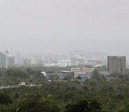 Evento de polvo del Sahara que afectó a Puerto Rico el pasado 21 de agosto.