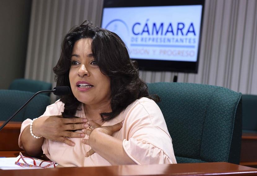 Representante María Milagros Charbonier. (GFR Media)