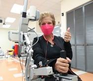Marisol Calero ha demostrado gran avance en su proceso de rehabilitación.