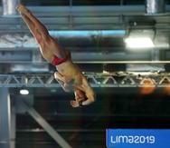 Rafael Quintero finalizó cuarto en la plataforma de 10 metros