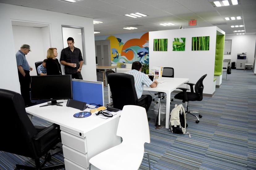 Muchos de los empresarios acogidos bajo las leyes 20 o 22 tienen sus oficinas en el edificio Caribe.
