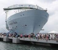 Esta no es la primera vez que el Symphony of the Seas, de Royal Caribbean, atraca en Puerto Rico. La primera vez fue que vino fue en diciembre del 2018.