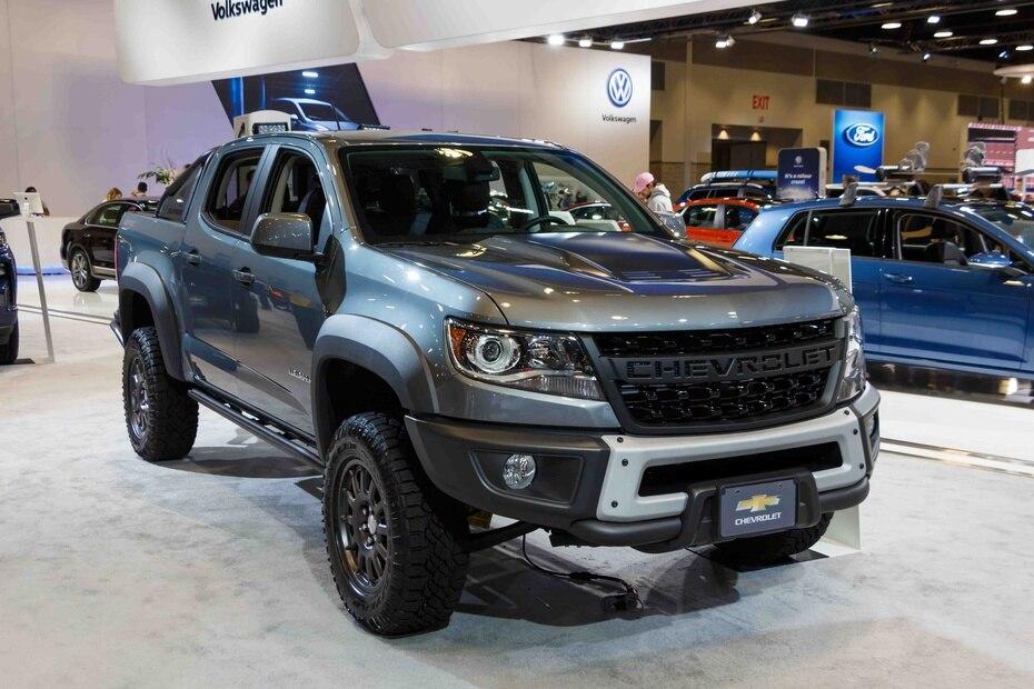 Chevrolet Colorado   Con una cámara de reversa de alta definición y un sistema de entretenimiento rediseñado, es otra de las grandes contendientes en el renglón de las pickups. (Shutterstock.com)