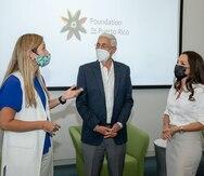 Foundation for Puerto Rico y Alexandra Lúgaro