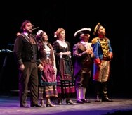 """La zarzuela """"Los Gavilanes"""" se presentó en el Centro de Bellas Artes de Santurce, en una producción de CulturArte de Puerto Rico."""
