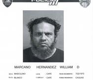 William David Marcano Hernández ha sido imputado de asesinar a seis personas en la región de Caguas en incidentes registrados entre el 2018 y el 2021.