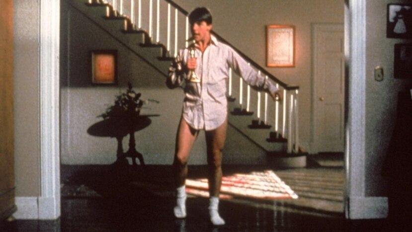 "Icónica escena de la película 'Risky Business"", protagonizada por Tom Cruise. (Archivo GFR Media)"