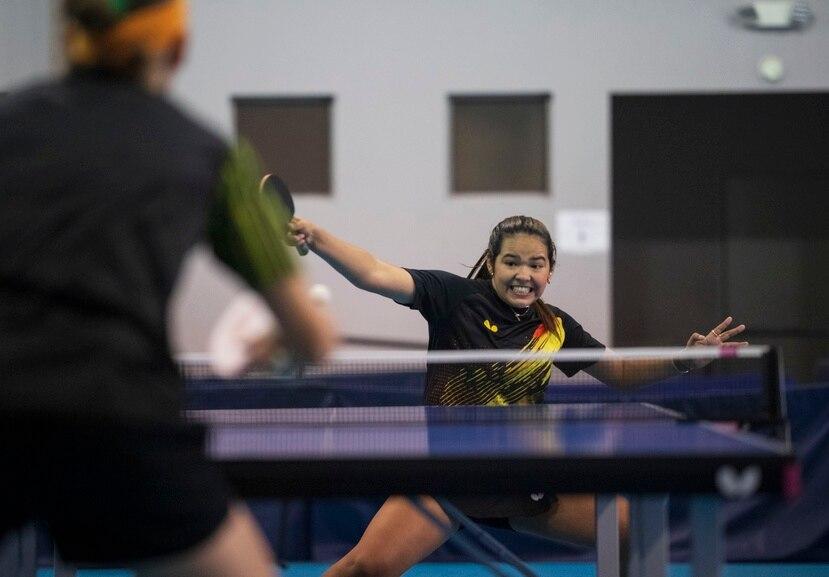 Adriana Díaz espera mejorar su actuación en Río 2016, cuando con 15 años ganó un partido.