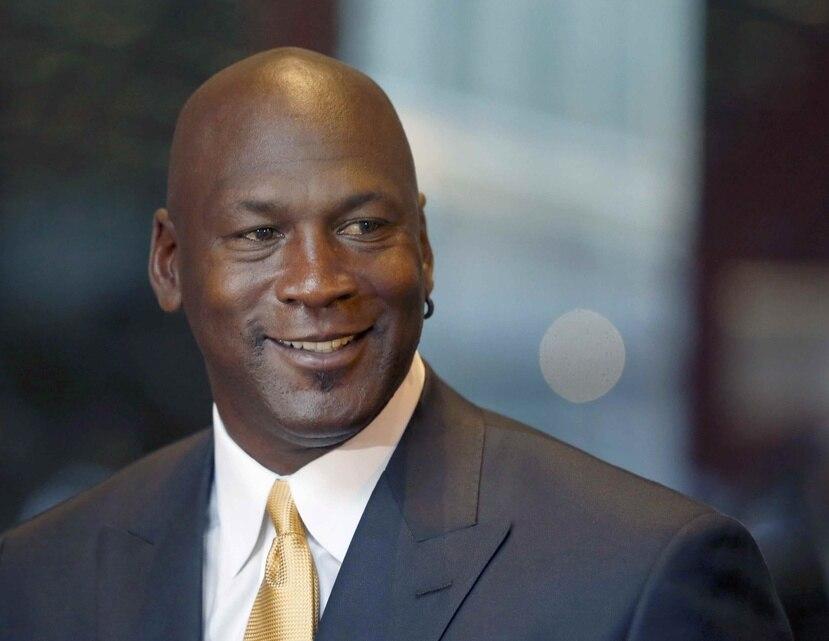 Michael Jordan en una foto del 2015.
