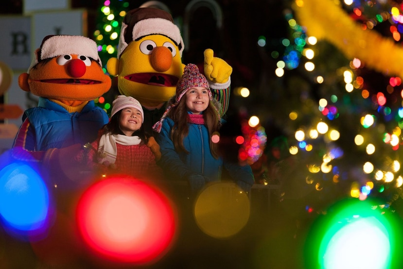 Sesame Street Christmas en SeaWorld (Suministrada/SeaWorld)