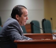 """Los miembros de la minoría popular señalaron que Jorge """"Georgie"""" Navarro Suárez (arriba) violentó el artículo 4 del Código de Ética de la Cámara baja, entre otros."""