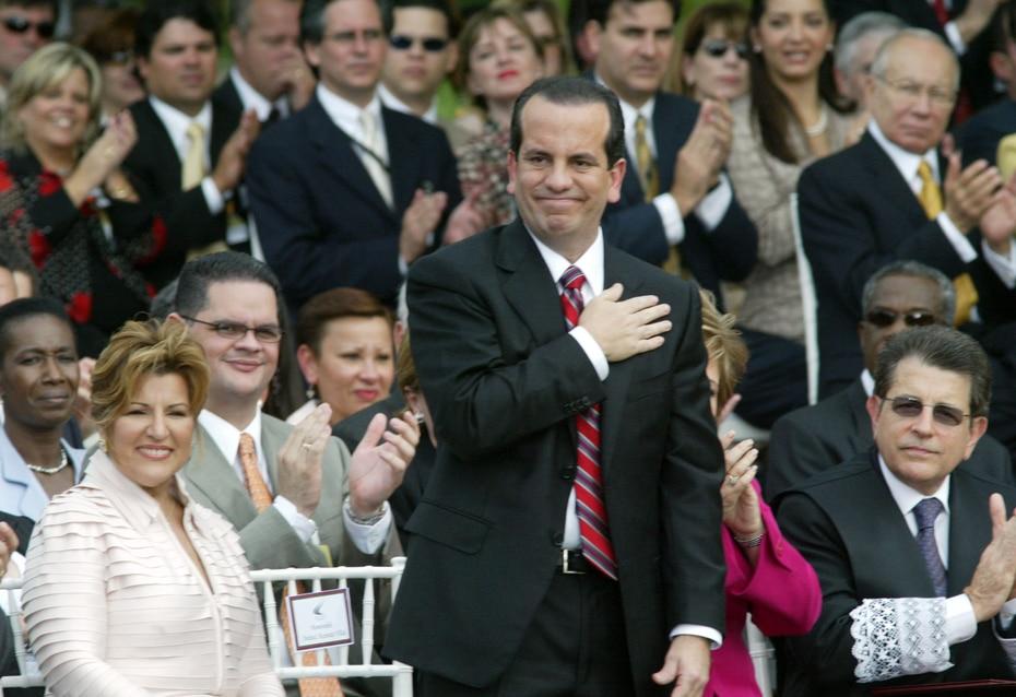 Acevedo Vilá se convirtió en el noveno gobernador bajo la Constitución del ELA.