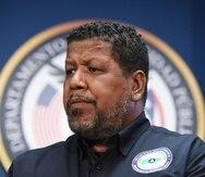 Nino Correa ha sido empleado del Nmead desde el 1998, cuando la agencia llevaba el nombre de Defensa Civil.