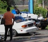 La primera masacre del 2020 cobró la vida de cuatro personas de una familia en una residencia del barrio Carraízo en Trujillo Alto.