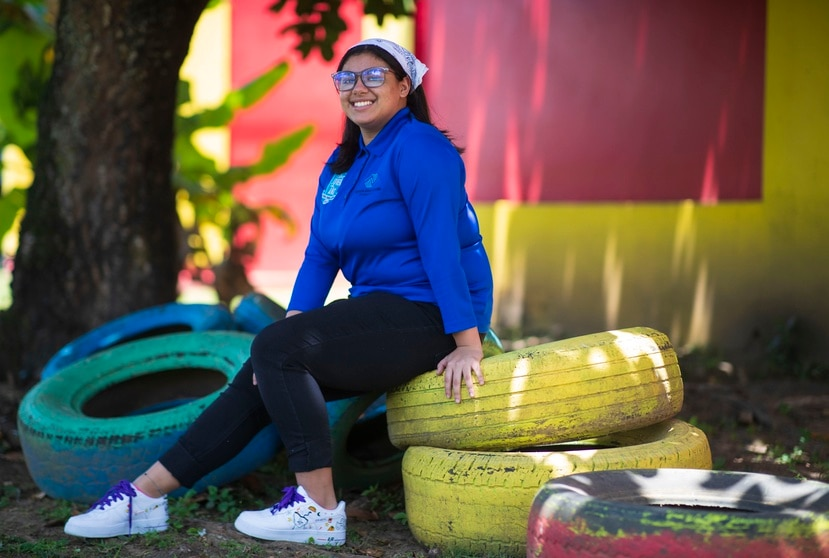 La joven Eliz A. Robles Cruz será la portavoz oficial de Boys and Girls Club este año.