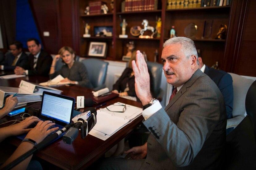 Rivera Schatz expresó su rechazo tajante al proyecto de Vargas Vidot.