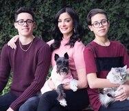 Dayanara Torres y Marc Anthony tuvieron dos hijos: Cristian y Ryan Muñíz Torres.