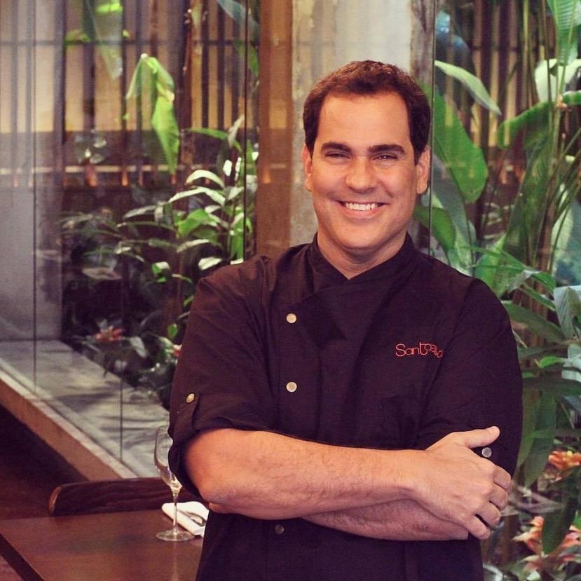 El chef José Santaella.