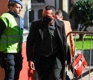 Ricardo Almirón, enfermero imputado por la muerte de Diego Maradona, llega a declarar a la fiscalía de San Isidro.