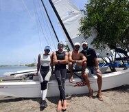 """Por su parte, Enrique """"Quique"""" Figueroa y Francesca Valdés ganaron la novena regata de Hobie Cat 16 y se mantuvieron al frente del evento."""