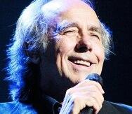 Joan Manuel Serrat, foto de archivo durante concierto en el CBA de Santurce en el 2011.   El Nuevo Dia/Lino M Prieto -----  -----  -----