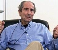El escritor estadounidense Philip Roth, Premio Príncipe de Asturias de las Letras 2012, durante la entrevista con EFE. (EFE)
