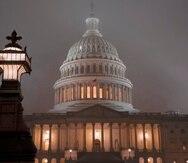 Foto tomada el 13 de diciembre del 2019 del Capitolio en Washington. (AP Photo/J. Scott Applewhite)
