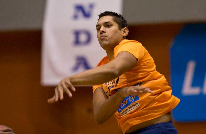 Juan Vázquez encabezó el ataque de los Changos con 20 puntos. (Archivo)