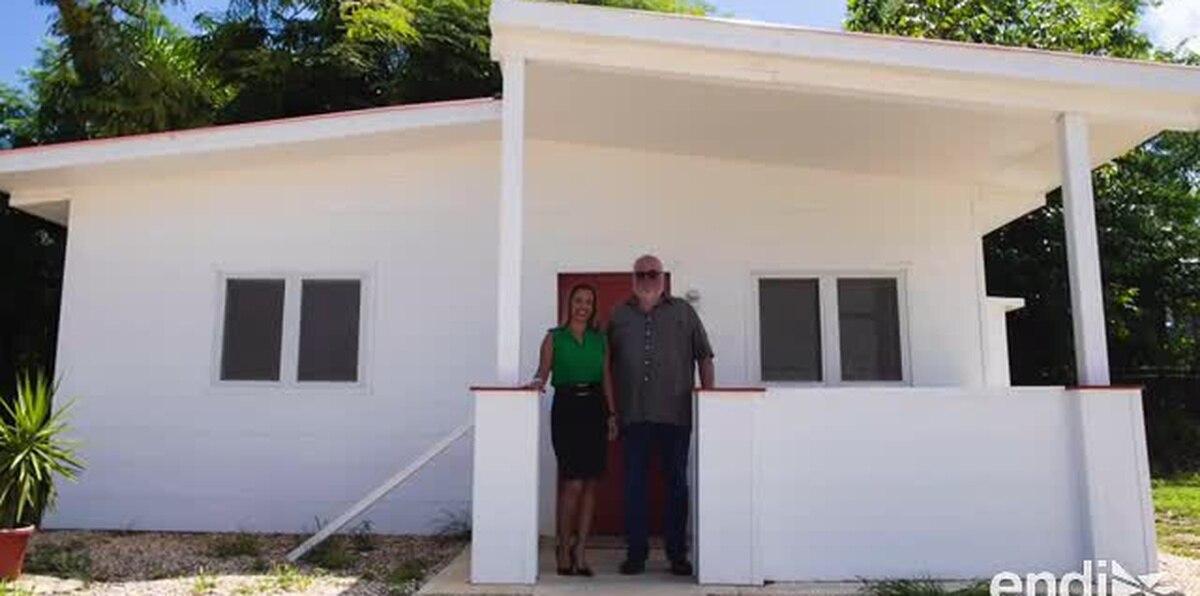 Construyen casas con un PVC resistente a huracanes