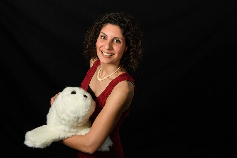El robot PARO, de tamaño pequeño, con forma de peluche y de color blanco, produce sonidos similares a los de una foca y mueve su cabeza y aletas cuando lo tocas o le hablas. (Agencia EFE)