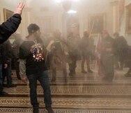Una escena del asalto al Capitolio en Washington el 6 de enero del 2021.