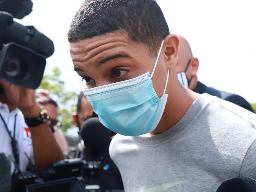 Jay O'Neill González Mercado, acusado de secuestrar y asesinar a Rosimar Rodríguez Gómez.