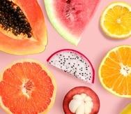 Además de que se pueden usar en muchos platos y postres, las frutas también pueden servir para una divertidad clase de sumar y restar.