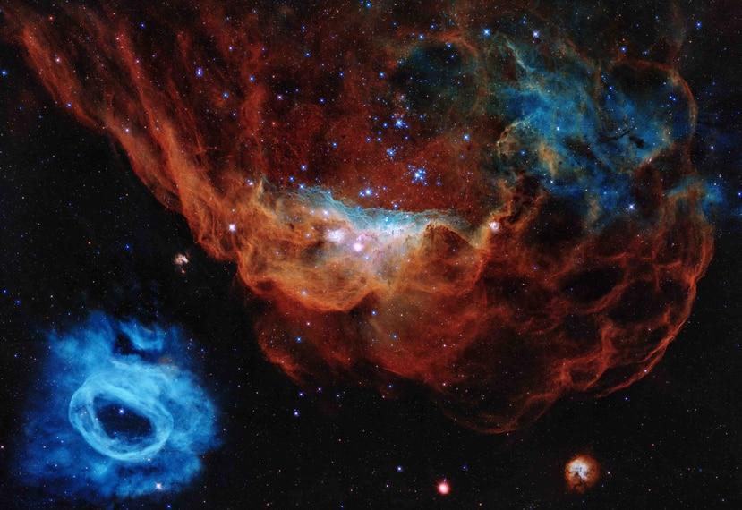 Las estrellas están a una distancia de entre 60 a 1,400 años luz de la Tierra. (EFE/ Archivo)