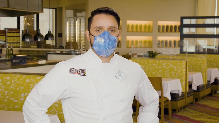 Chef John Prieto, de Perú.