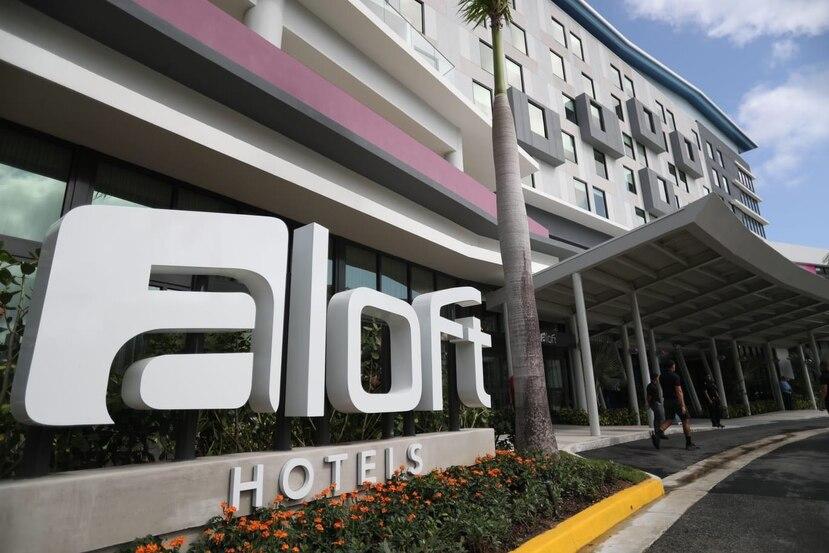 El nuevo hotel cuenta con 177 habitaciones estilo loft distribuidas en siete pisos.