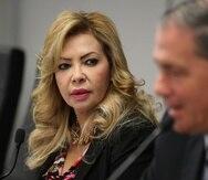 Evelyn Vázquez rechazó que haya intervenido o dado instrucciones para manejar las rutas de la distribución de la ayuda.
