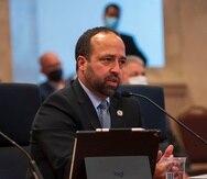 Omar Marrero durante la vista pública de su nombramiento como secretario de Estado.