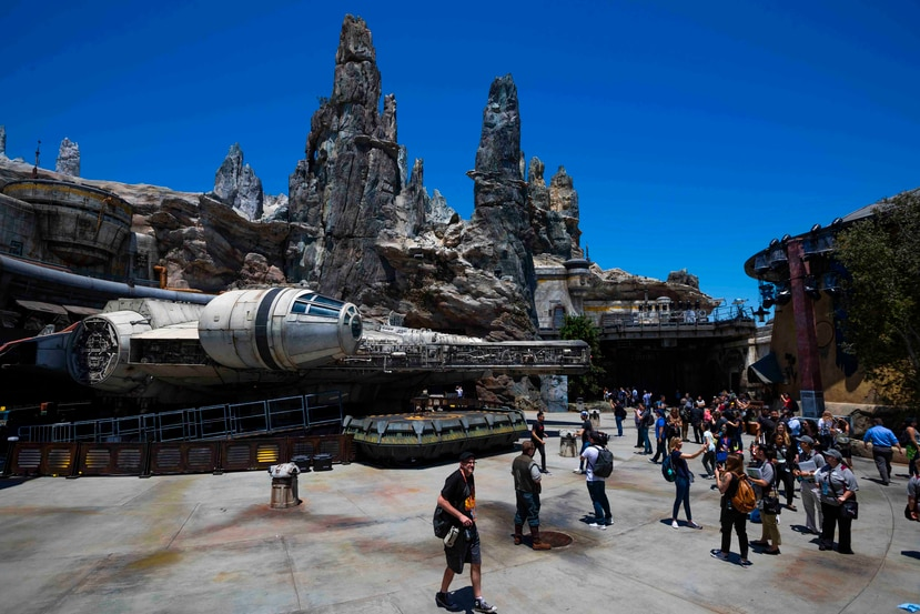 Star Wars: Galaxy's Edge en el Disneyland Resort.