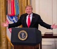 President Donald Trump. (EFE)