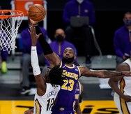 LeBron James y Anthony Davis impulsan el triunfo de los Lakers sobre los Pelicans