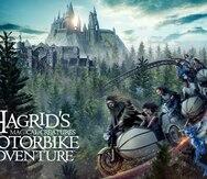 """""""Tips"""" si vas al estreno de la nueva montaña rusa de Harry Potter"""