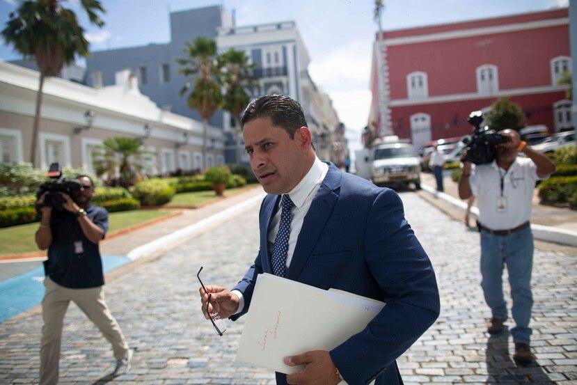 Carlos Molina, alcalde de Arecibo.
