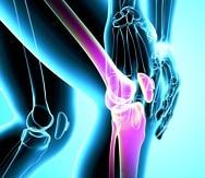 male knee pain -----