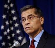 Xavier Becerra, secretario de Salud de Estados Unidos.