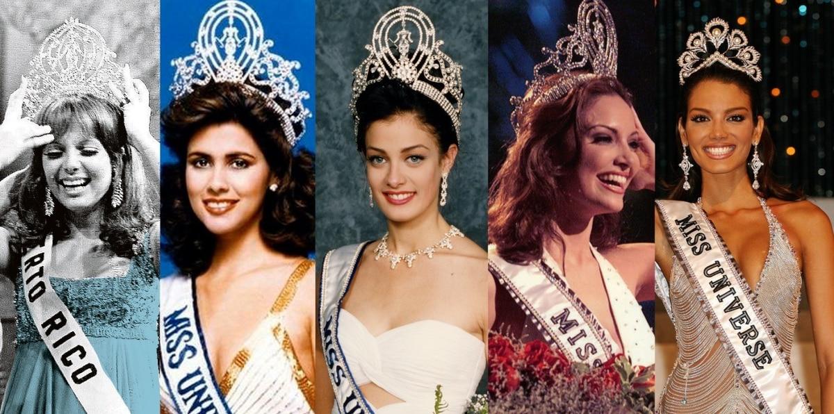 Momentos inolvidables de nuestras cinco Miss Universe