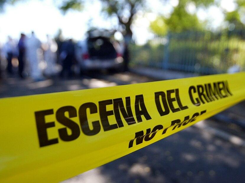 Foto de archivo de una escena del crimen.